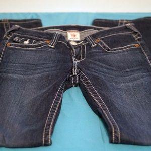 True Religion Boot Cut Flare Size 27